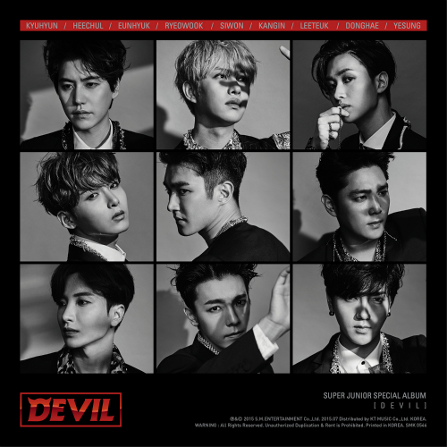 Download Album Super Junior Devil Special Album suju full mp3