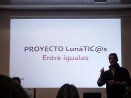 LunáTICos en Edutopía en en Zaragoza