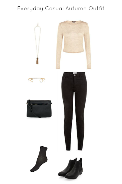 Everyday Casual Autumn Outfit - Miss Bella blogs