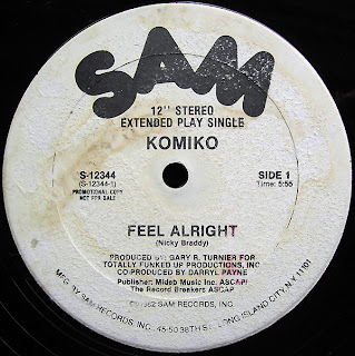 Komiko - Feel Alright 1982 12 Inch