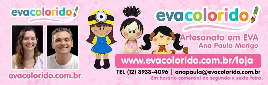 EVA Colorido - Artesanato em EVA