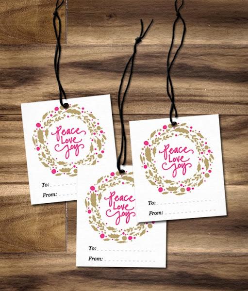 2013 Christmas Gift Tags Free Printables