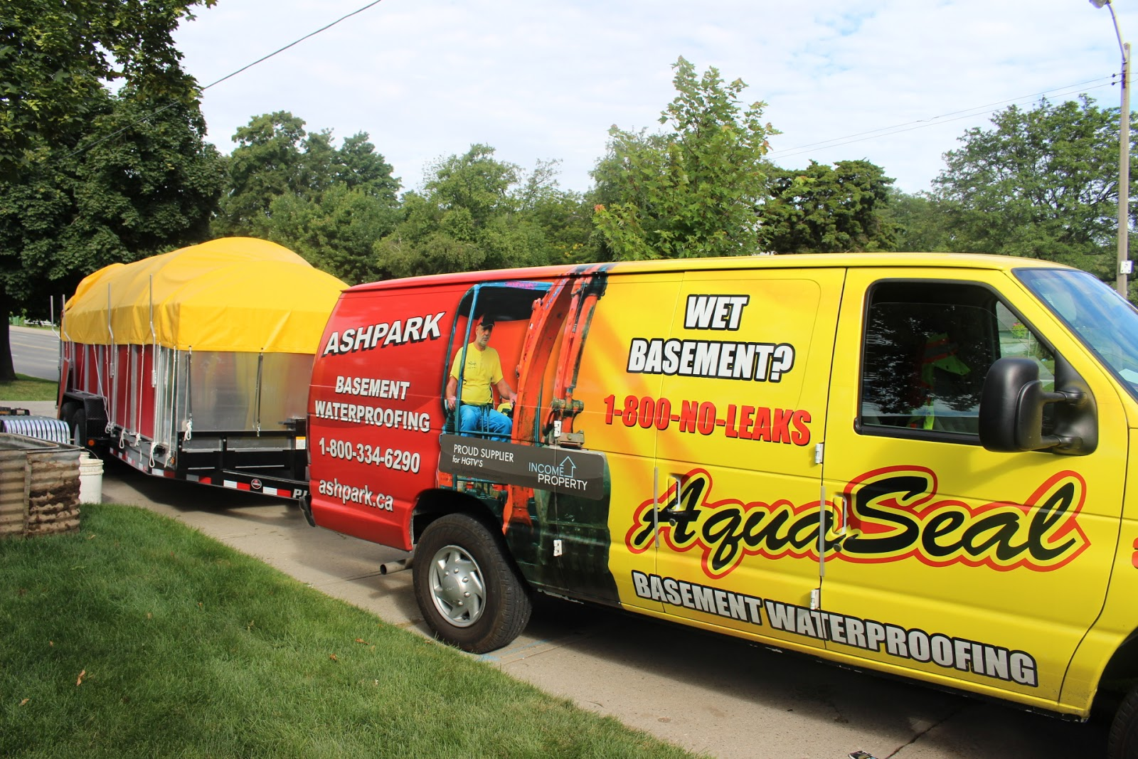 Aquaseal London Licensed Basement Waterproofing Contractors London in London Ontario 1-800-NO-LEAKS