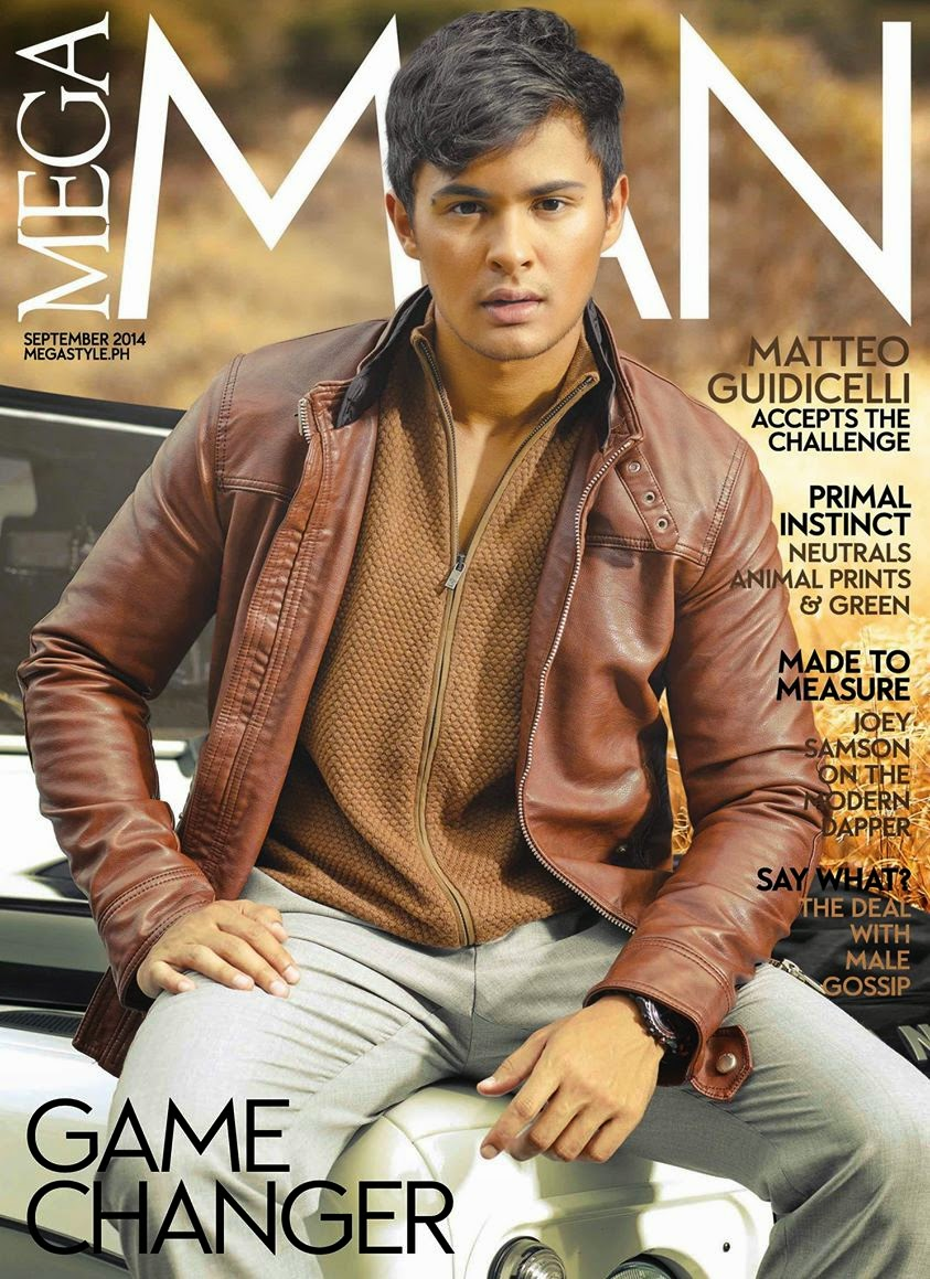 Matteo Guidicelli for Mega Man Sept. 2014