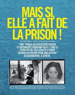 Les Anges 5 : Nabilla et la prison dans VSD