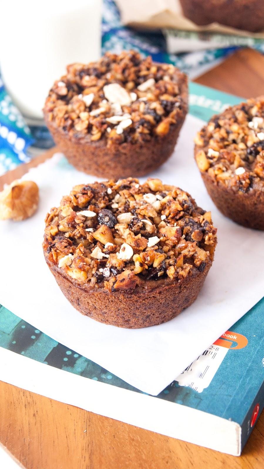 Diary Free Chocolate Zucchini Muffins