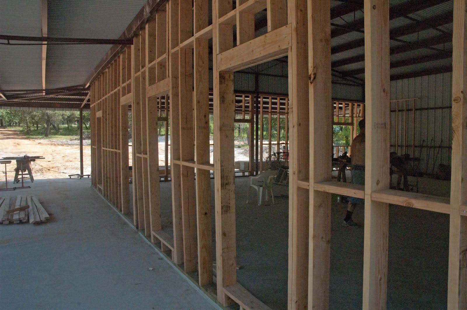 Christie Texas Homestead Building The Barndominium