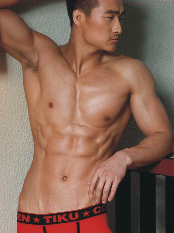 Korean Male Model Porn - Jin Xiankui in body show | Hot Asian Guys - male models, actors, and male  celebrities