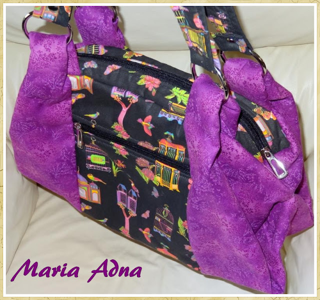 Bolsas, Bolsas em tecido, Maria Adna,