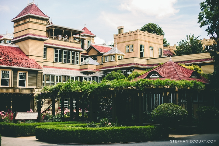 """winchester mystery house gardens"""