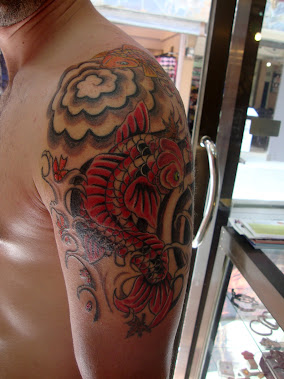 japanese koi tattoo thailand