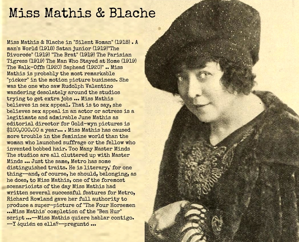 June Mathis & Blache