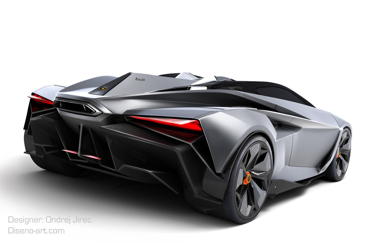 Lamborghini Perdig 243 N Design Concept By Ondrej Jirec Is