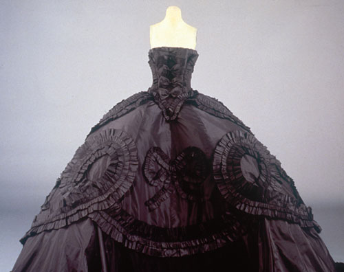 I heart wedding dress maria luisa black silk taffeta gown for John galliano wedding dress