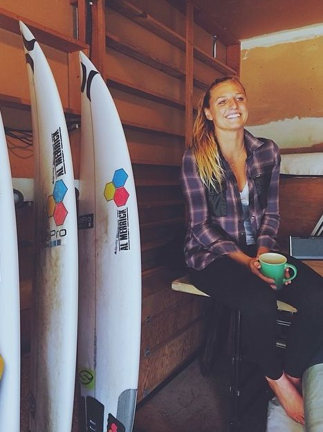 Surfer girl, zoe karssen stoked