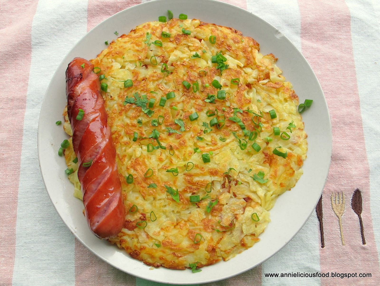 ... weekend. I open the fridge and cooked Swiss Rosti for weekend lunch