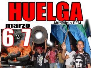 Convocan huelga general en San Francisco de Macorís
