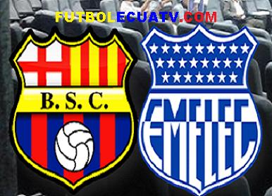 Barcelona sc vs emelec 03 10 2015 futbolecuatv for En que canal juega el barcelona