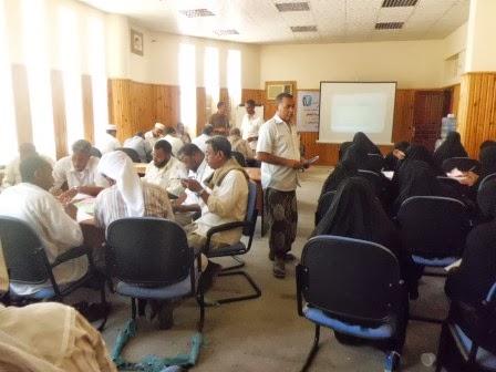 ورشة عمل من أجل  ( تنمية قدرات و مهارات المعلم ) التي نفذها معهد الخيرات CIMG2263