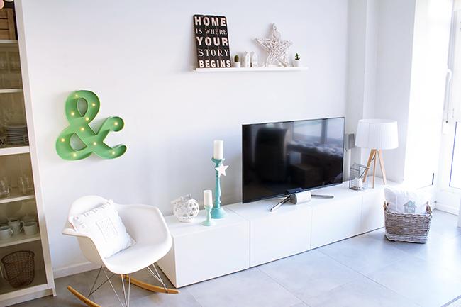 Antes y despu s mi mueble tv desde 0 v deo sorteo boho deco chic - Mueble para encima del inodoro ...