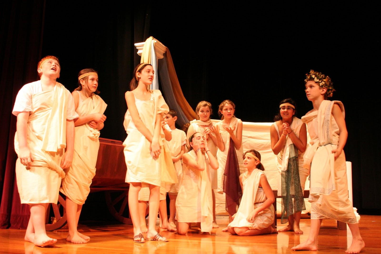 Circus Olympus Greek Theatre King Midas Production Photos