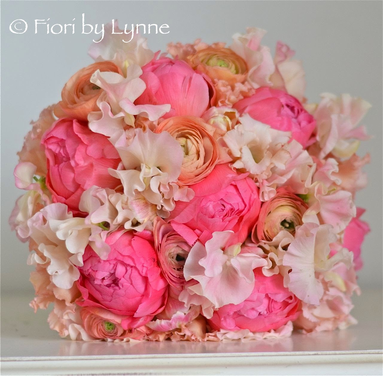 Wedding Flowers Blog: Jenna\'s Coral Wedding Flowers, Marwell Hotel