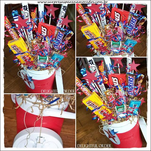 bouquet de chocolates para páscoa