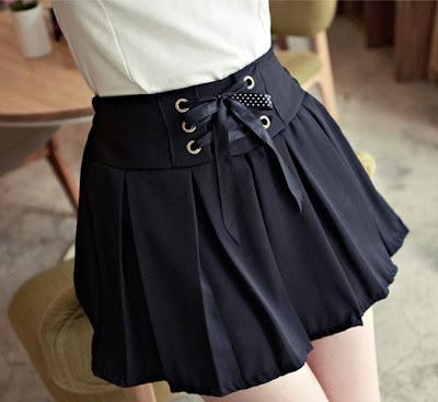 Nah itu tadi beberapa model rok mini korea yang terbaru , semoga ...