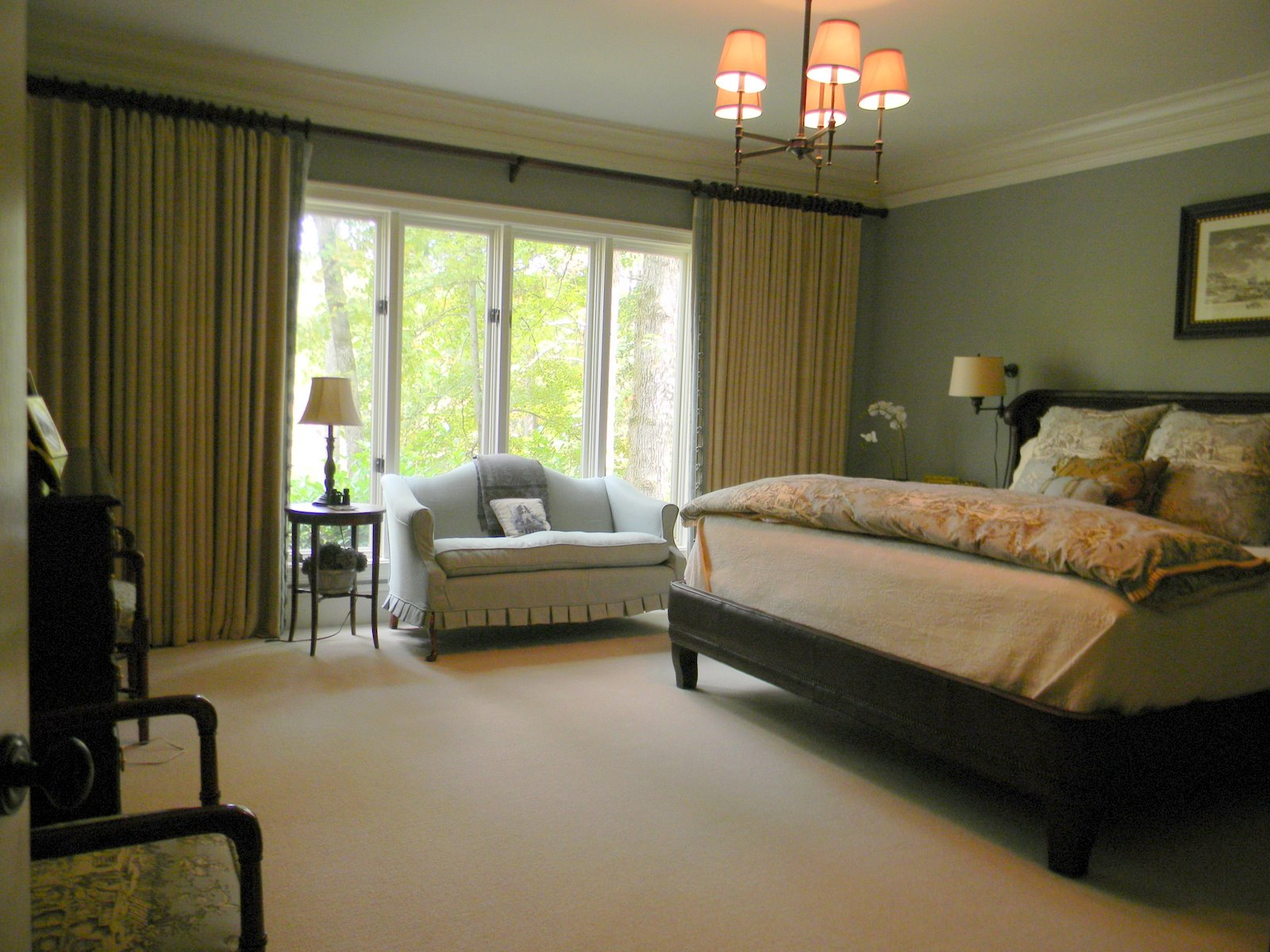 A Toile Tale Master Bedroom Before And After