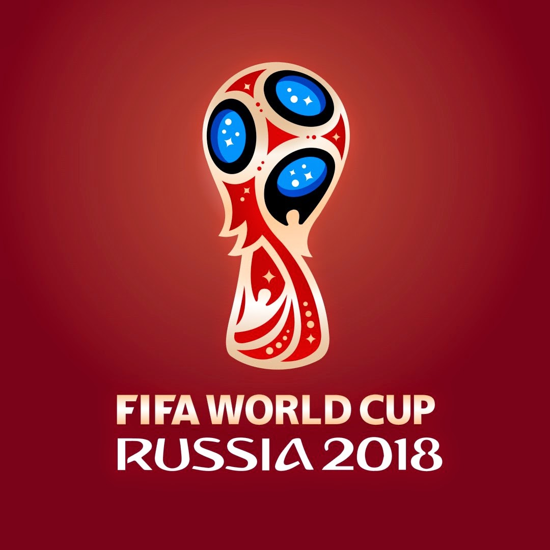 Logo del mundial de fútbol Rusia 2018 en vector