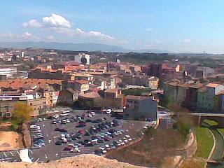 Barbastro ciudad de ferias (Somontano, Huesca, Aragón, España)