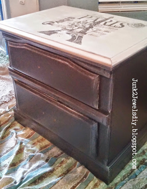 chest makeover with French flair