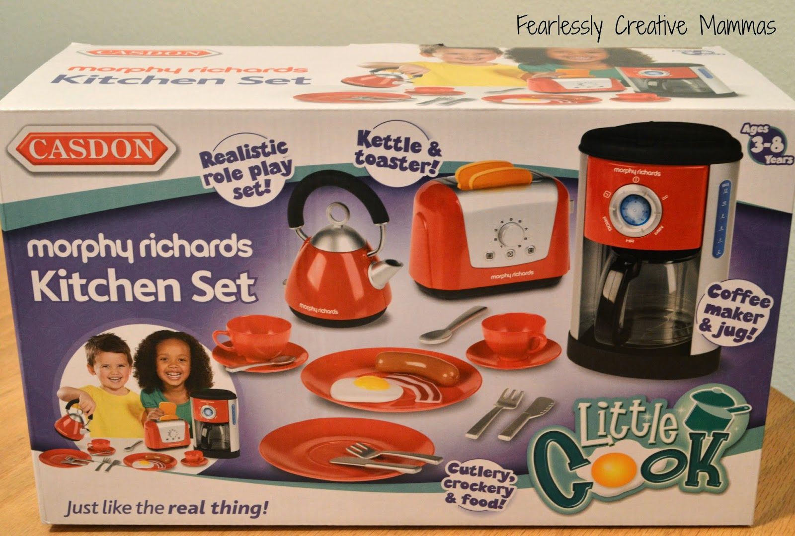 Review casdon little cook kitchen set fearlessly for Cooking kitchen set