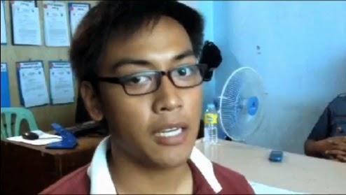 Student heckles President Aquino in Naga City
