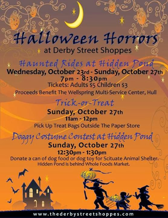 Halloween Horrors at Derby Street Shoppes