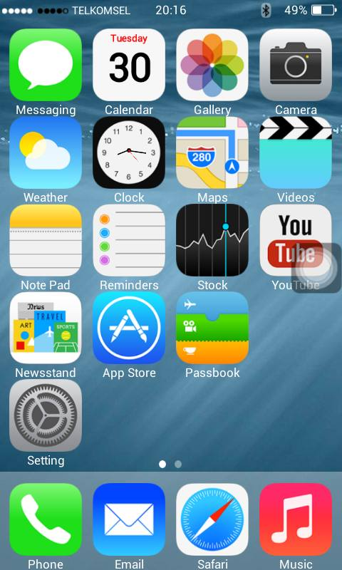 how to put iphone 4 backup to oppo f1s