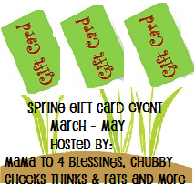 spring gift card event button