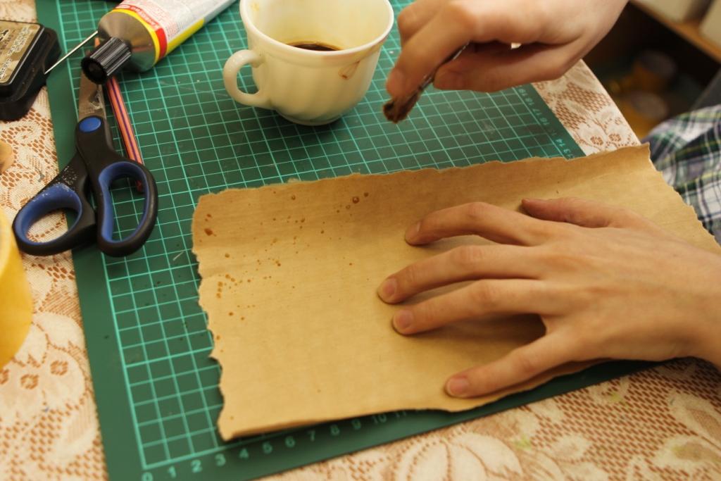 Свиток из старой бумаги как сделать