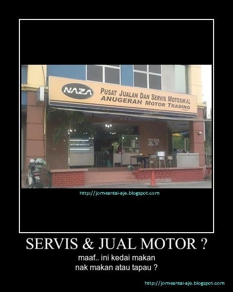 SERVIS & JUAL MOTOR ?