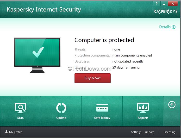 تحميل تفعيل Kaspersky 2017 Anti-Virus, Internet Security