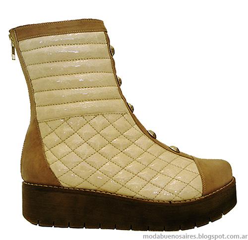 Moda otoño invierno 2014 zapatos, botas y botinetas.
