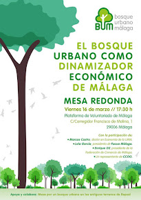 Mesa redonda: 'El bosque urbano como dinamizador económico de Málaga'