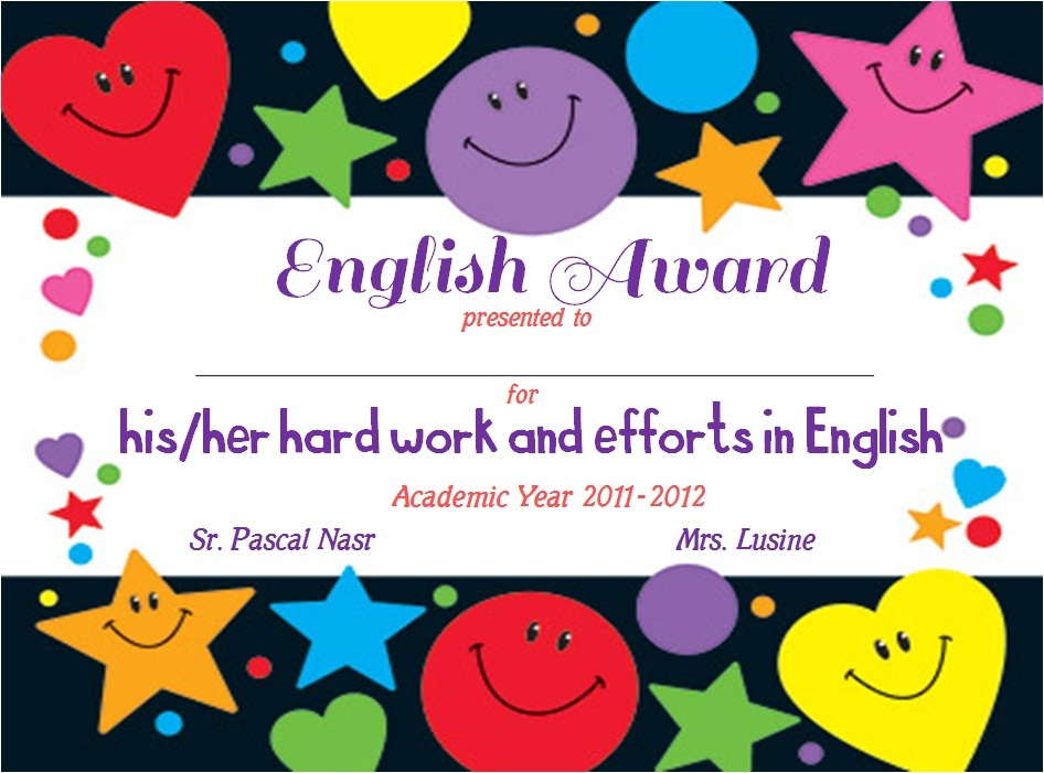 Enjoy teaching english end of year awards part 2 of year awardsi used these ones last year but decided to change the fonts a little to give a fresher look i get tired of the same thing very quickly yelopaper Choice Image