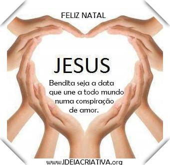 Cartão Virtual de Natal de Jesus