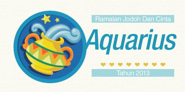Bintang Aquarius : Ramalan Jodoh Dan Cinta Tahun 2013