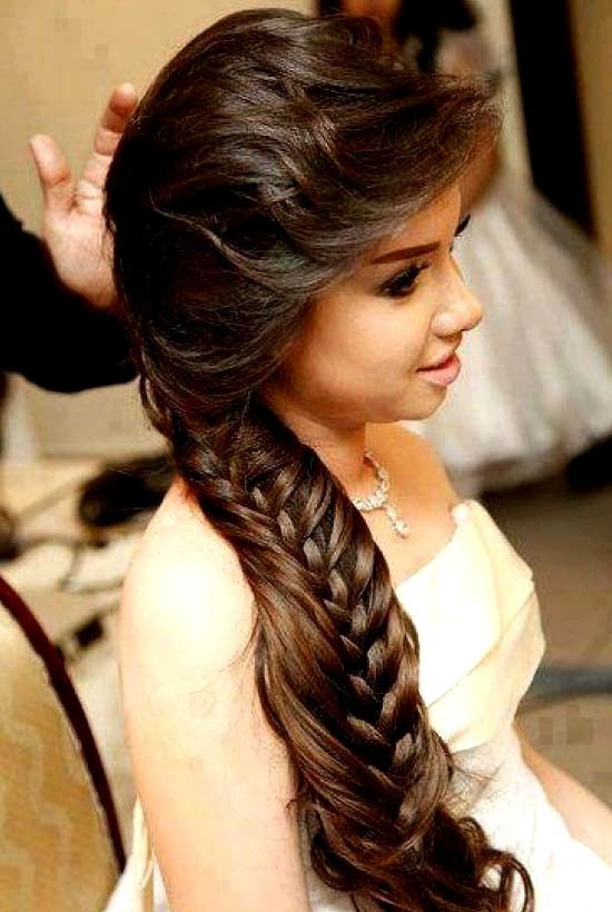 Perfect Hair Styles For Party Occasions Indian Gorgeous Hair Styles ...