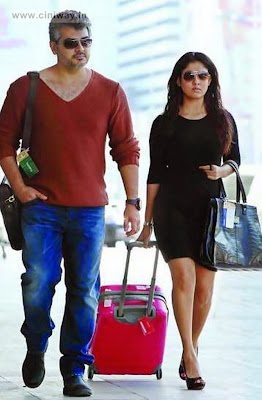 Ajith and Nayanthara in Aarambam