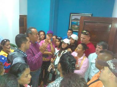 Alcides Monsalve: En esta Alcaldía trabajamos para todos los sectores