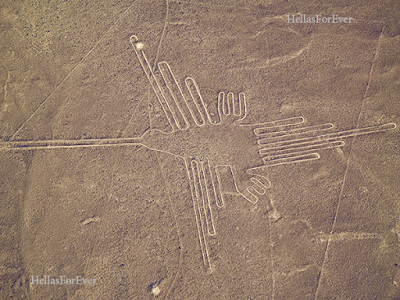 NAZCA Περού το Αρχαίο κοσμοδρόμιο