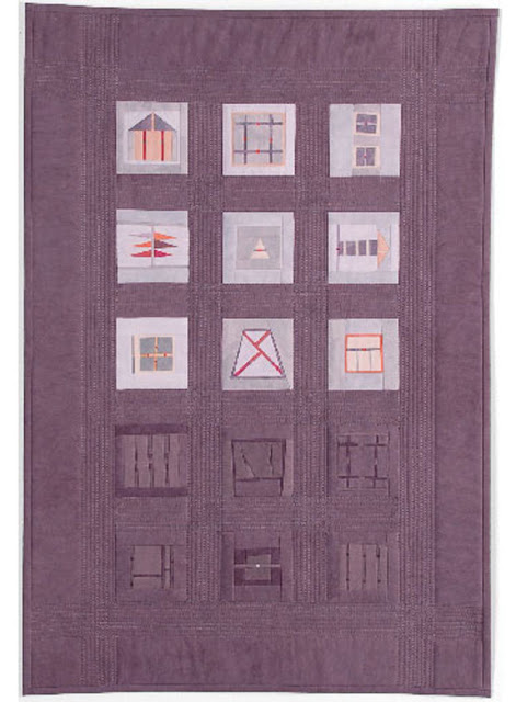 Erin Wilson, quilts,art, arte, shapes studies